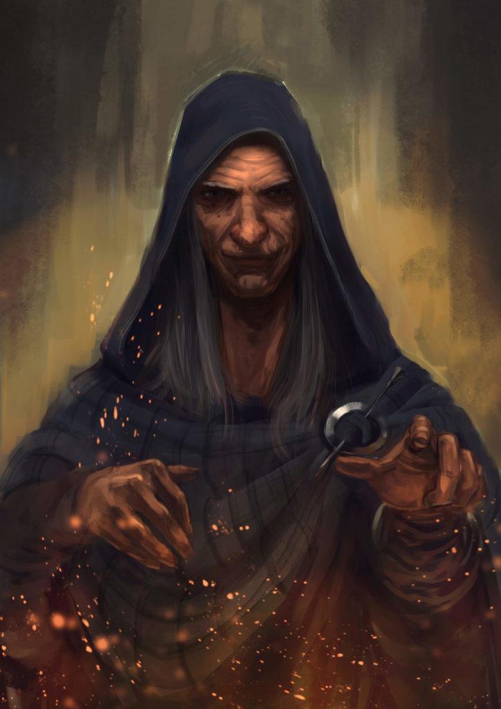 Caerbannog - szamanka