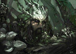 Caerbannog - bóg lasu
