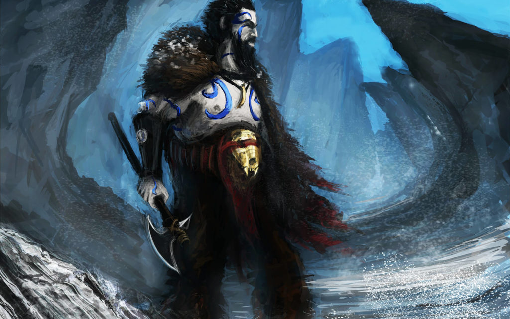 Connriacht - wojownik klanu Dzika