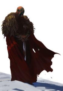Connriacht - wojownik klanu Niedźwiedzia