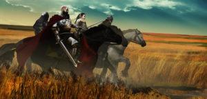 Plemiona - szlachta na koniach