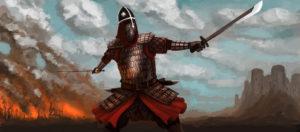 Plemiona - żołnierz pogranicza