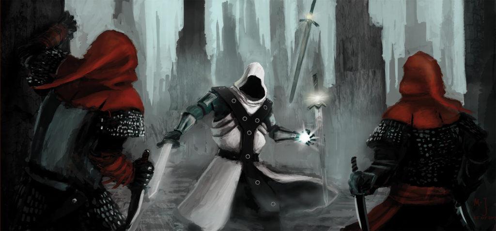 Talmidia - Mordecai z Tal Chayal w zasadzce Brunatnych Kapturów. Wygrał.