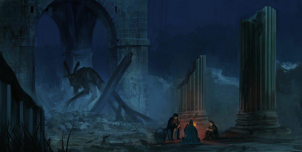 Apolitania - Ruiny eksperymentów magicznych