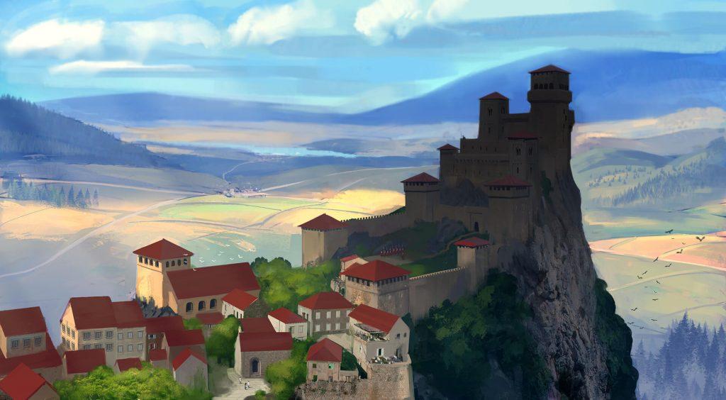 Apolitania - miasto na wzgórzu