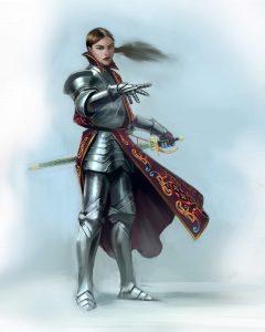 Isaliani - Dama miecza