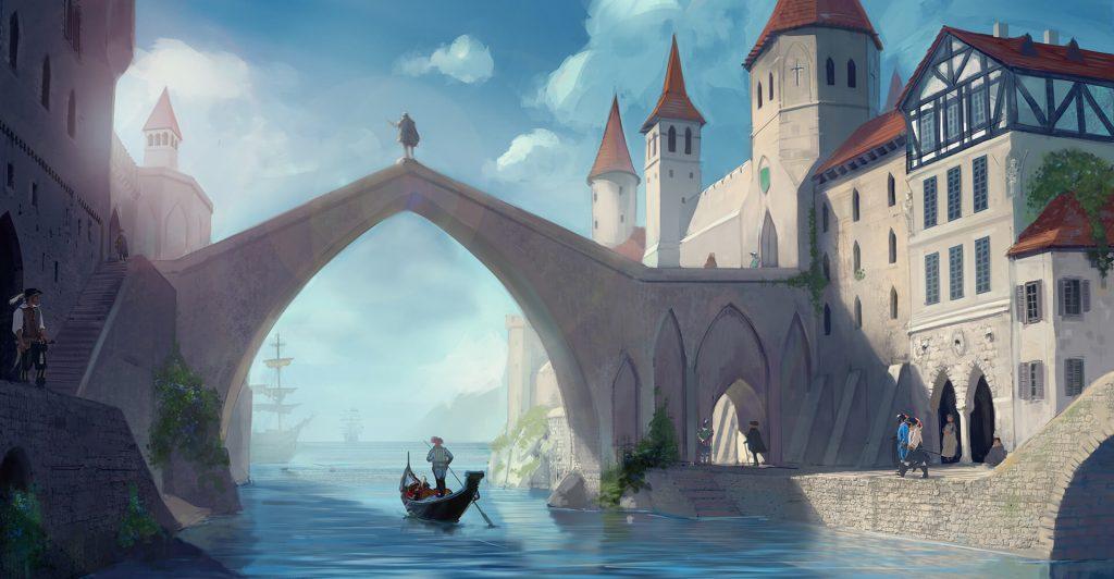 Isaliani - miasto na wybrzeżu