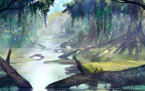Somoria - Droga wodna przez bagna